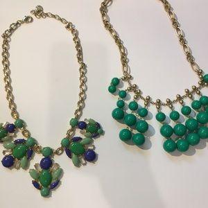 Set of 2 Stella & Dot statement necklaces